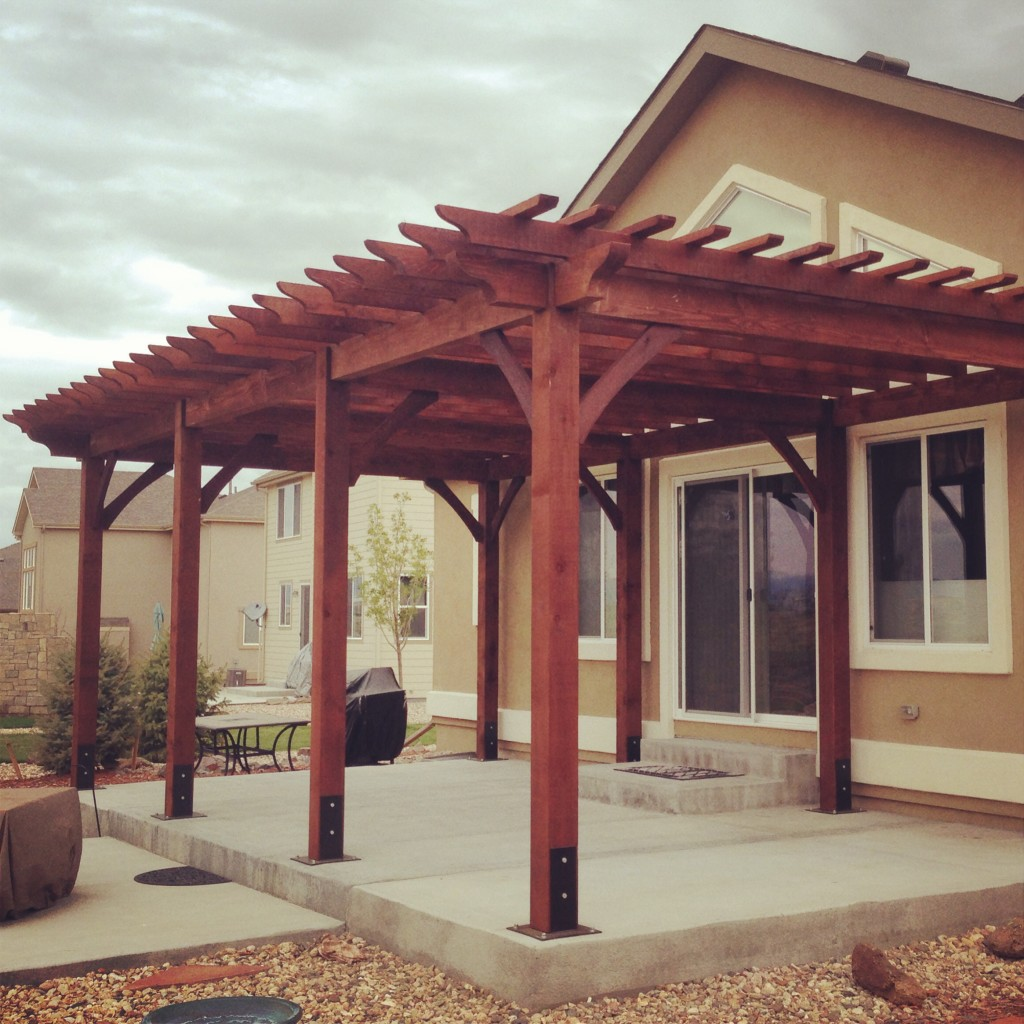 Pergola Joist Designs: Fort Collins & Windsor, CO